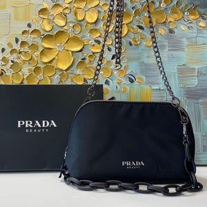 Prada Cosmetic Pouch to Crossbody Bag